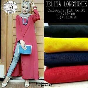 Sale 61123 Flowie Tunic Baju Tunik Murah Atasan Muslim Wanita Murah model baju atasan wanita tunik lengan panjang terbaru