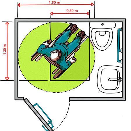 porte toilette dimension sanitaires accessibles bien 233 quiper les sanitaires de