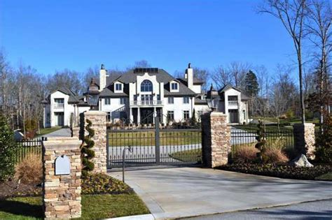 Celebrity Interior Homes newly built 25 000 square foot mansion in ooltewah tn