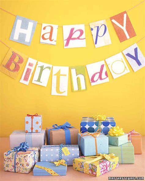 happy birthday decoration design kids party decorations martha stewart