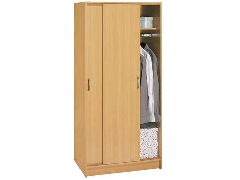 Armoire Penderie Portes Coulissantes by Armoire Penderie 2 Portes Coulissantes Armoire Penderie