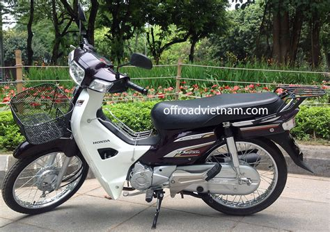 honda super dream cc rental  hanoi offroad vietnam