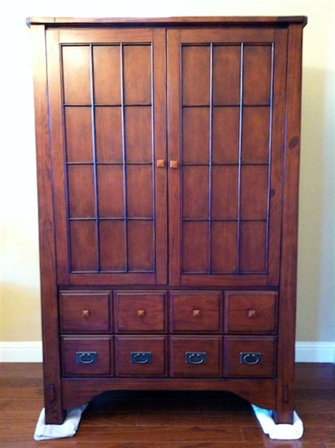 estate sale armoire for clothing tv 450