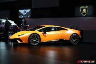 Lamborghini Geneva Geneva 2017 Lamborghini Huracan Performante Gtspirit