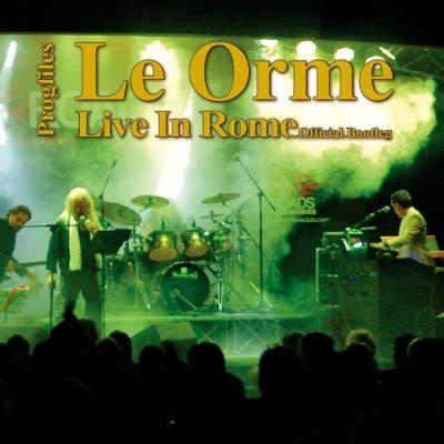 live rome live in rome le orme hmv books vscd 4411