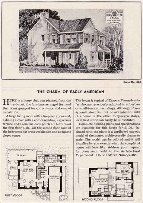 early american house plans house plan the charm of early american ladies home