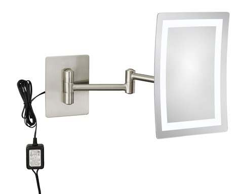 wall mounted makeup mirror wall mounted makeup mirror 3x in wall mirrors