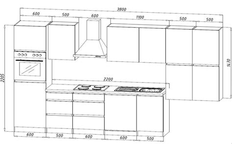 keuken tekening technische tekening keuken maken
