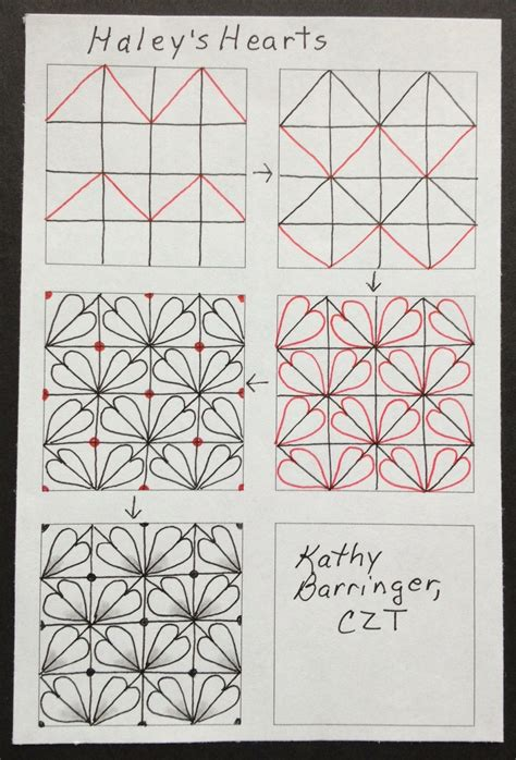 easy zentangle pattern ideas step by step tangle patterns h on pinterest tangle patterns