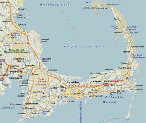 map of cape cod ma map of bourne massachusetts pictures to pin on pinsdaddy