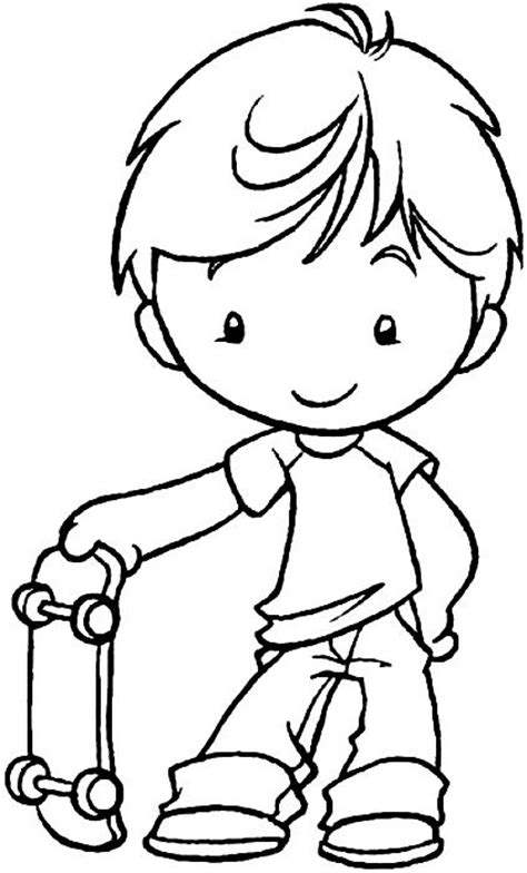 Boy And Color Page Best 25 Boy Coloring Pages Ideas On Pinterest Coloring by Boy And Color Page
