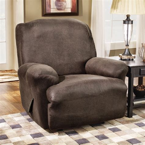 dual reclining sofa slipcover recliner sofa slipcover reclining sofa slipcover ribbed