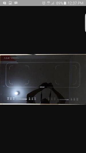 kompor listrik kuche 2 tungku harga kuche induction cooktop hitam pricenia