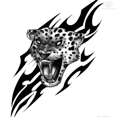 tribal jaguar tattoo designs tribal and jaguar design