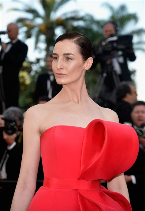 Catwalk To Carpet Erin Oconnor In Marchesa by Erin O Connor Carol Cannes Festival Premiere
