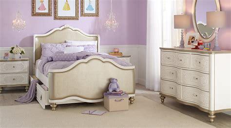 Disney Princess White Bedroom Furniture by Disney Princess Enchanted Kingdom White 5 Pc