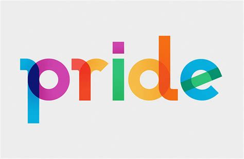 Pride Logo 7 it s that typeface released to honour lgbt activist