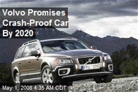 Volvo Promises An Injury Proof Car By 2020 by Sonar News Stories About Sonar Page 1 Newser