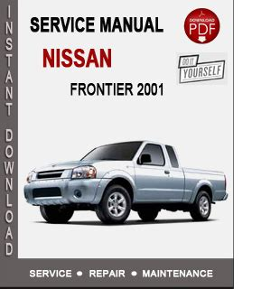 how to download repair manuals 2001 nissan frontier transmission control nissan frontier 2001 service repair manual download