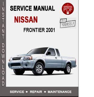 nissan frontier 2001 service repair manual download