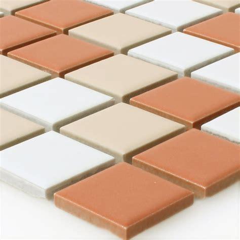 mosaik fliesen beige ceramic mosaic tiles creme terracotta mix tm33285m