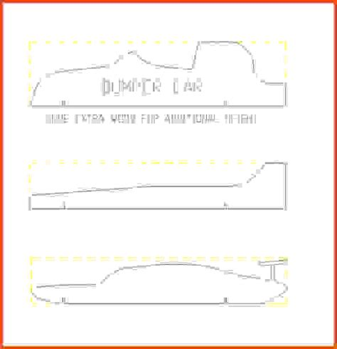 pinewood derby car template pinewood derby car templates pinewood derby template pdf
