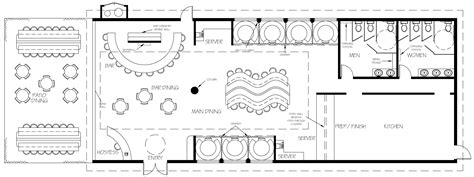 Restaurant Floor Plan Maker by Restaurant Floor Plan Builder