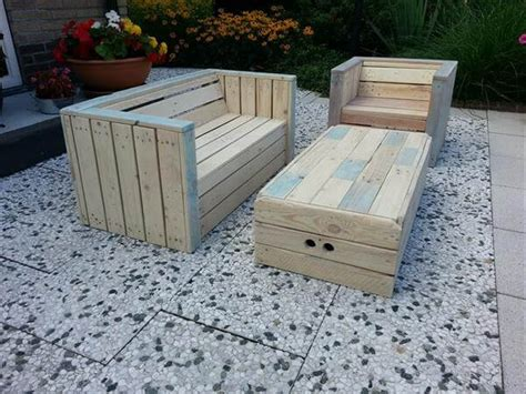 Outdoor Patio Furniture Plans Wooden Pallet Outdoor Furniture Plans Woodideas
