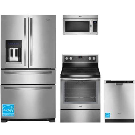 brandsmart kitchen appliance packages whirlpool wrx735sdbm stainless steel complete kitchen