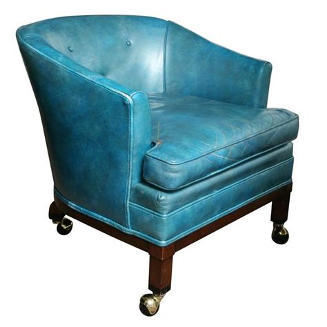professor s leather reading chair traditional 80 best images about turquoise on pinterest