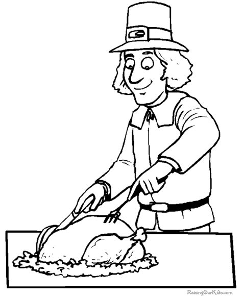 thanksgiving dinner coloring pages sketch coloring page