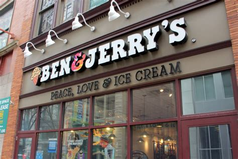ben amp jerry s pittsburgh pa see inside ice cream parlor