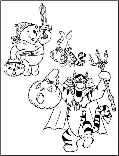 halloween coloring pages winnie the pooh cute coloring pages coloring part 228