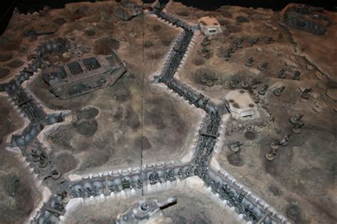siege  vraks forge world diorama  gamesday