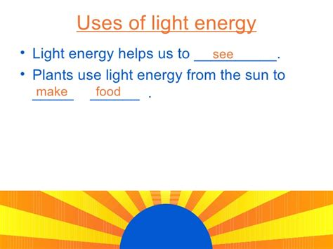 best 28 uses of light energy light energy class 11