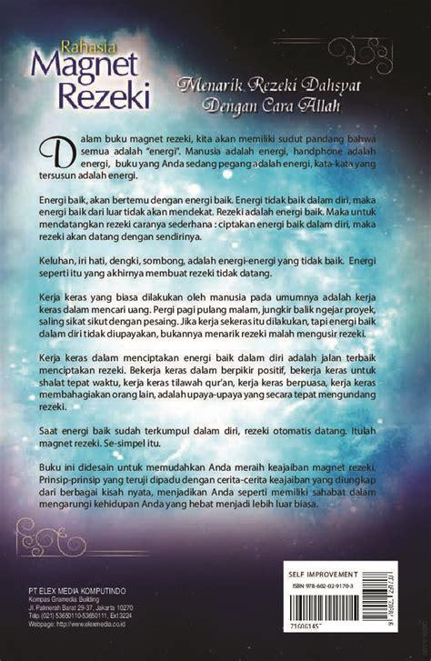 Buku Percepatan Rejeki 1 jual buku rahasia magnet rezeki oleh h nasrullah s si