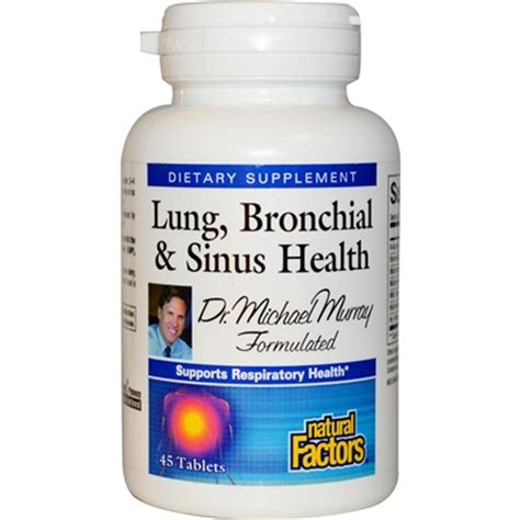 Sinus Infection Liver Detox by Lung Bronchial Sinus Health 45 Tabs Factors