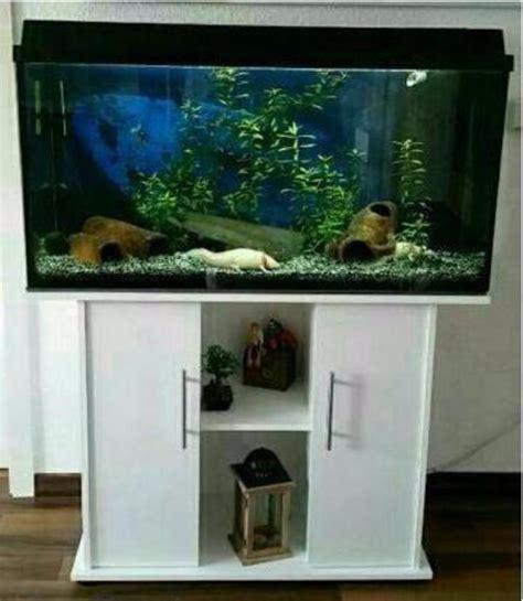 gebrauchtes aquarium kaufen biete aquarium 100x40x50 mit unterschrank juwel 180 in
