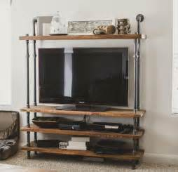 Television Stand Designed With Wood Furniture » Ideas Home Design