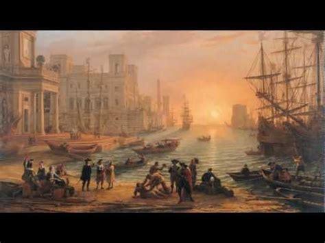 le soleil des scorta 2742760180 port de mer au soleil couchant le lorrain par pierre oscar l 233 vy youtube
