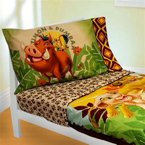 Disney Baby Simba Lion King 4 Piece Toddler Bedding Set Simba Crib Bedding Set