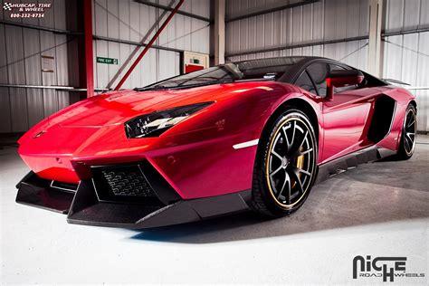 Lamborghini Aventador Tire Size Lamborghini Aventador Niche St 252 Ttgart Wheels