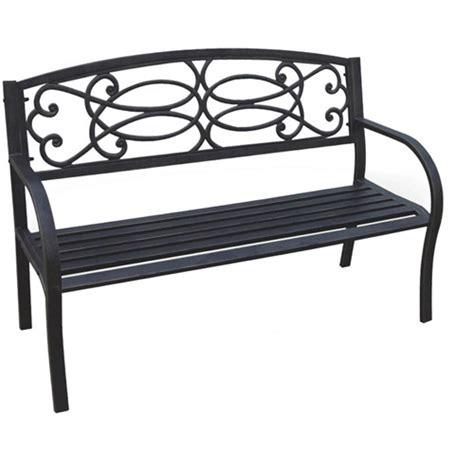 park bench walmart dc america vienna metal park bench bronze walmart com