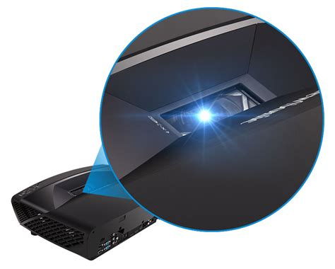 Second Viewsonic Projector viewsonic ls830 laser projector 1080p 4500 ansi hdmi 3d