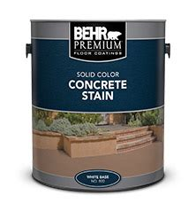solid color concrete stain behr premium behr