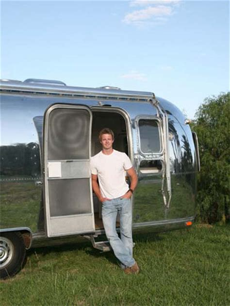 Camper Kitchen Faucet A Modern Remodel Of The Classic Airstream Trailer Travel