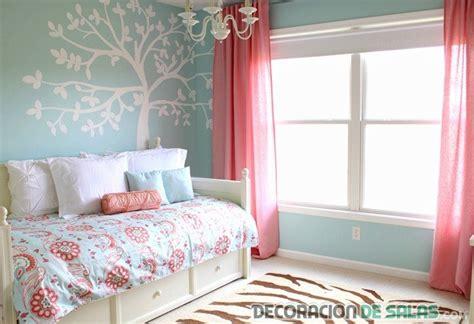Brown And Turquoise Bathroom Accessories by Combina El Color Azul Y Coral En Los Dormitorios