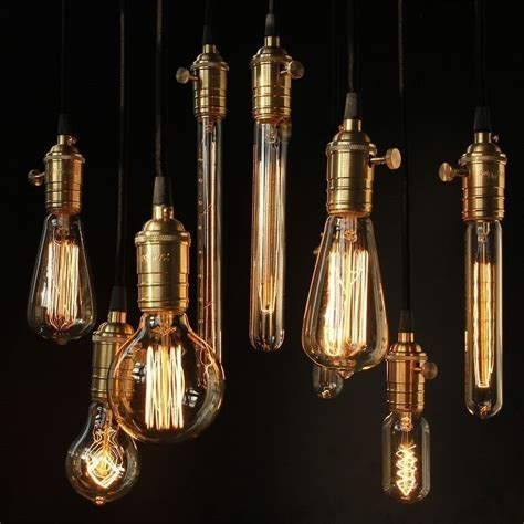 retro lights filament light bulbs vintage retro antique industrial