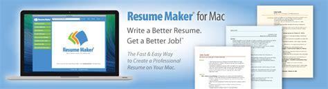 individual software resume maker home resumemaker for mac