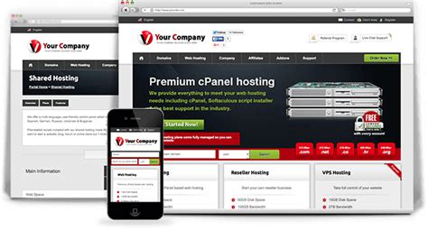 whmcs templates whmcs templates themes for web hosting resellers